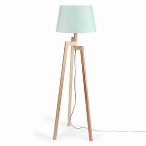 Lampadaire Maison Du Monde : lampadaire tr pied pastel en bois h 150 cm maisons du monde ~ Premium-room.com Idées de Décoration