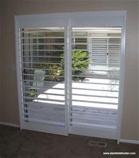 rodless shutters   clearview   patio door