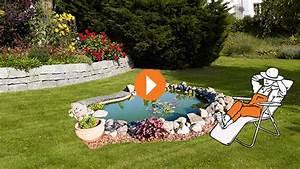 Teich Und Garten : teich anlegen erkl rvideo obi ~ Frokenaadalensverden.com Haus und Dekorationen