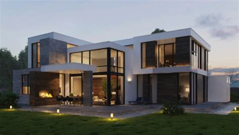 Modern Home Exteriors With Stunning Outdoor Spaces by Modern Home Exteriors With Stunning Outdoor Spaces