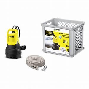 Pompe à Eau Manuelle Castorama : pompe d 39 vacuation eau charg e dompelpomp box sp 5 k rcher ~ Dailycaller-alerts.com Idées de Décoration