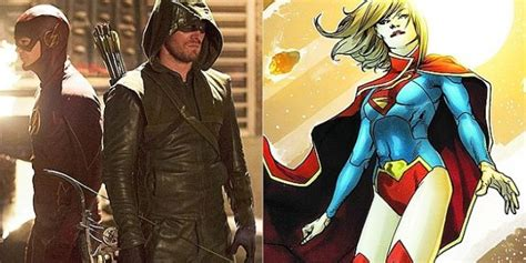 It's Possible Supergirl Will Cross Over With Arrow And The