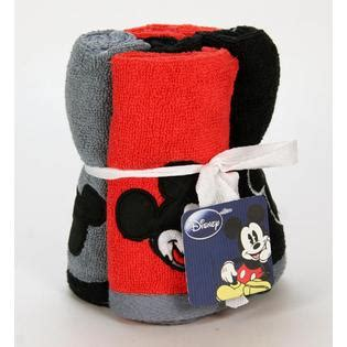 disney embroidered 5pc wash set mickey tuxedo home bed