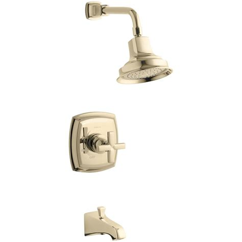 5 Tub Faucet by Kohler Margaux 1 Handle 1 Spray 2 5 Gpm Tub And Shower
