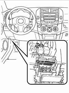 Diagram  1996 Toyota Corolla Under The Dash Fuse Box Car