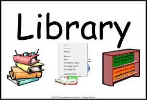 Printable Preschool Classroom Center Signs Library