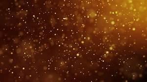 CG HD Gold Sparkle Glitter Background Animation Stock