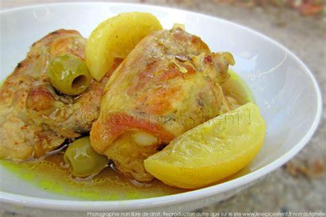 cuisine marocaine tajine cuisine marocaine tajine poulet citrons confits