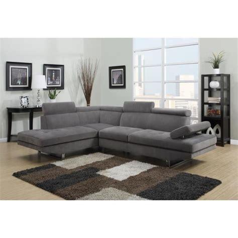 canapé d angle paiement en plusieurs fois canapé d 39 angle en microfibre gris design angle gauche