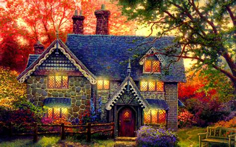 country cottage wallpaper beautiful cottage widescreen high definition