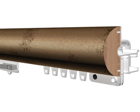 kirsch decorative traverse curtain rods kirsch 2 inch estate ultra pinch pleat at designer drapery