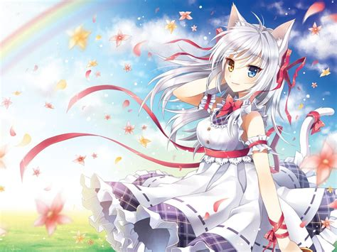 Anime Cat Wallpaper - anime cat wallpapers 37 wallpapers hd wallpapers