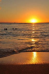 Honolulu Hawaii Beaches Sunset
