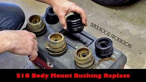 S10 Body Mount Replace - Second Shift Garage