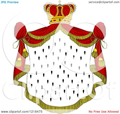 Rayo L Mantle by Clipart Of A Crown And Royal Mantle With Drapes 4
