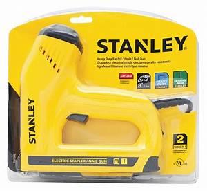 Stanley 7-1  2 U0026quot  Heavy Duty Staple Gun  Yellow