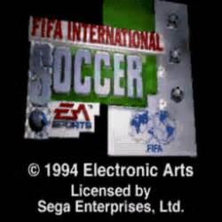 Fifa International Soccer (U) ROM / ISO Download for Sega ...