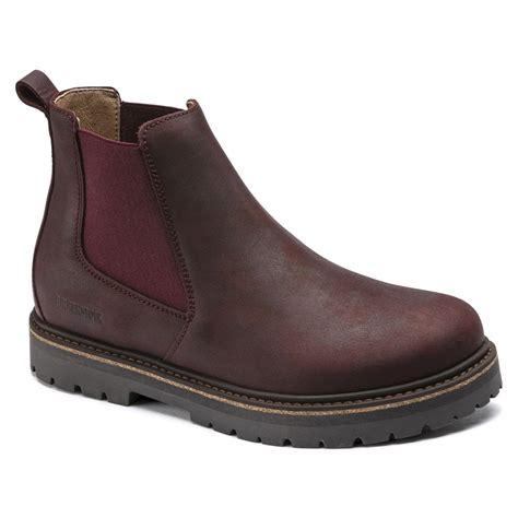 Birkenstock Stalon Chelsea Boot 1017323 Burgandy REGULAR ...