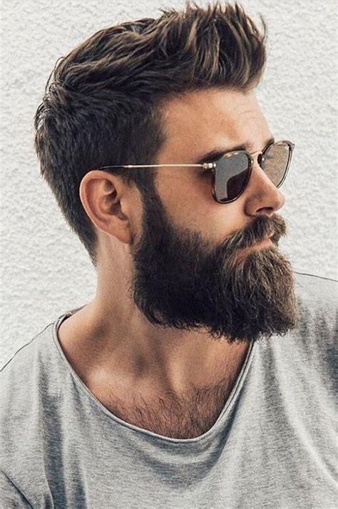 latest modern beard styles  men buzz