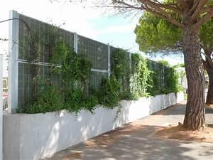 Mur Anti Bruit Végétal : mur antibruit absorbant v g talis port camargue dans le ~ Melissatoandfro.com Idées de Décoration