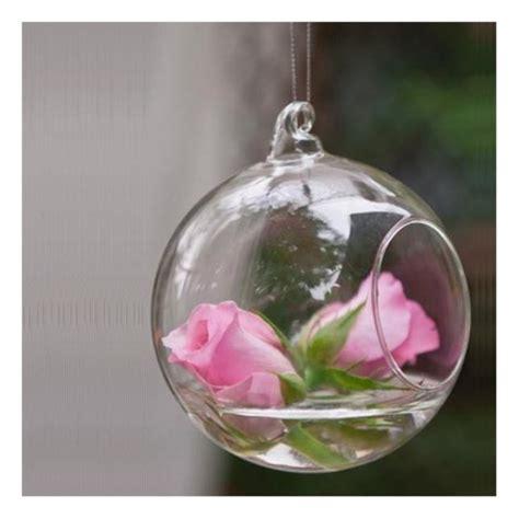 photophore a suspendre en verre 4 photophore verre boule 224 suspendre 10 cm centre de table creative emotions