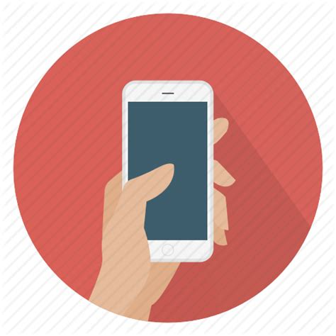 smartphone icon vector png roundies by gregor cresnar
