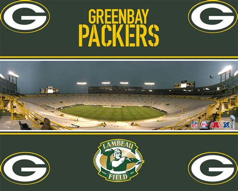 lambeau field green bay packers wallpaper
