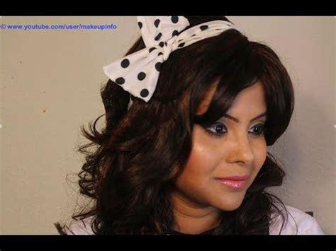 retro makeup  indian bollywood style youtube