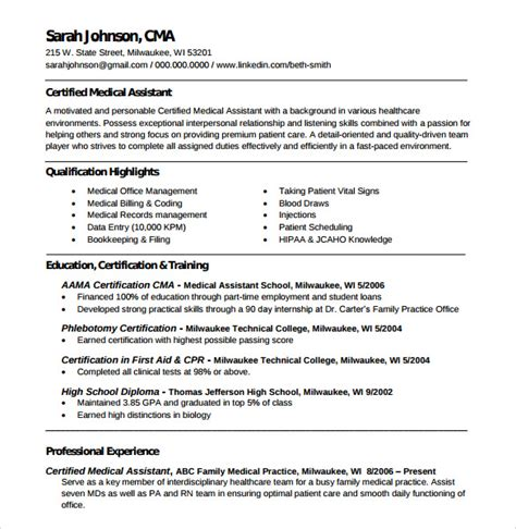 Resume For Entry Level Phlebotomist by Sle Phlebotomy Resume