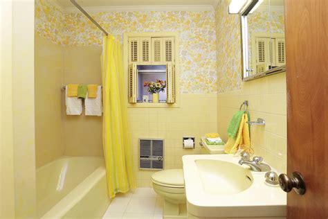 yellow tile bathroom ideas 1954 texas time capsule house interior design perfection 26 photos retro renovation