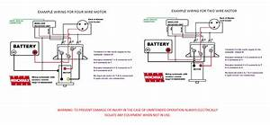 Full  Winch Remote Wiring Diagram