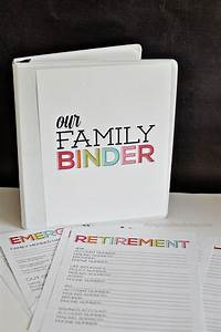 updated family binder binder create and organizations With family documents binder