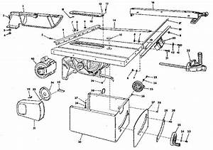 Craftsman 113298760 Table Saw Parts