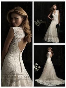 straps v neck a line wedding dresses with keyhole back With keyhole wedding dresses