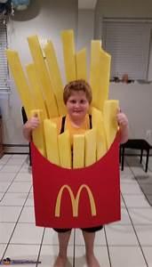 DIY McDonald's Fries Costume