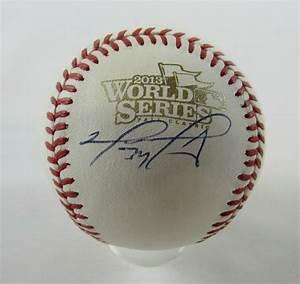 David Ortiz Signed 2013 World Series Baseball (MLB ...