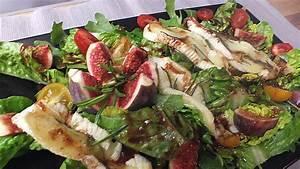 Salat Mit Ziegenkäse Und Honig : bunter salat mit gratiniertem ziegenk se feigen und einem ~ Lizthompson.info Haus und Dekorationen
