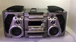 Panasonic Sa-ak47 5 Disc Stereo System  4 Way 170w Monster Sound