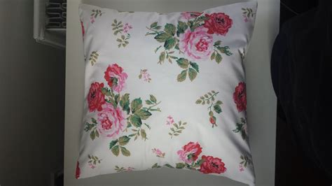 shabby chic cushions uk shabby chic cushion cover in cath kidston antique rose white 14 16 18 20