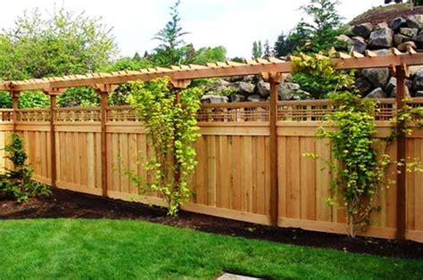 small backyard fence ideas modern fence planter http lomets com