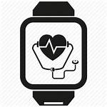 Medical Icon Smart Diagnosis Gadget Heart Icons
