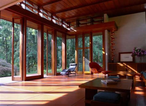 lake home decorating frank lloyd wright interiors homedesignboard