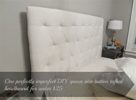 Beyond The Portico One Diy Queen Size Button Tufted