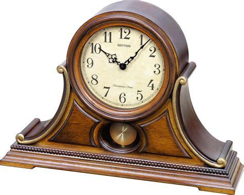 uttermost clock wsm tuscany ii mantel clock by rhythm chimes