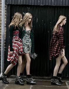 Rock 'n' Roll Style ☆ Zara TRF Fall/Winter 2013-2014 Ad ...