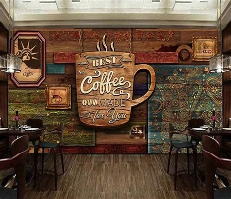 coffee poster high grade retro coffee shop background