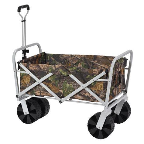 11 cu. ft. 21 in. W Steel Folding Wagon FBW3621 CAMO   The