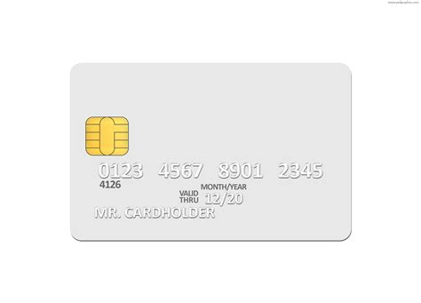 blank credit card template blank white credit card psd template psdgraphics