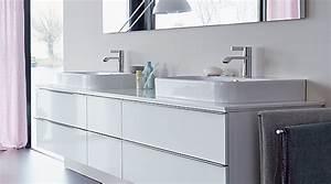 Badmöbel 2 Waschbecken : duravit happy d 2 badm bel megabad ~ Markanthonyermac.com Haus und Dekorationen