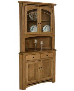 dining room hutch ideas boulder creek corner hutch amish direct furniture